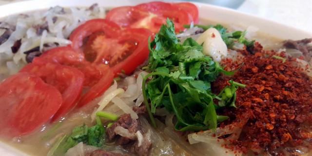 试做一把,小众川菜之萝卜丝焖牛肉丝(这道菜是不是这个名?)。
