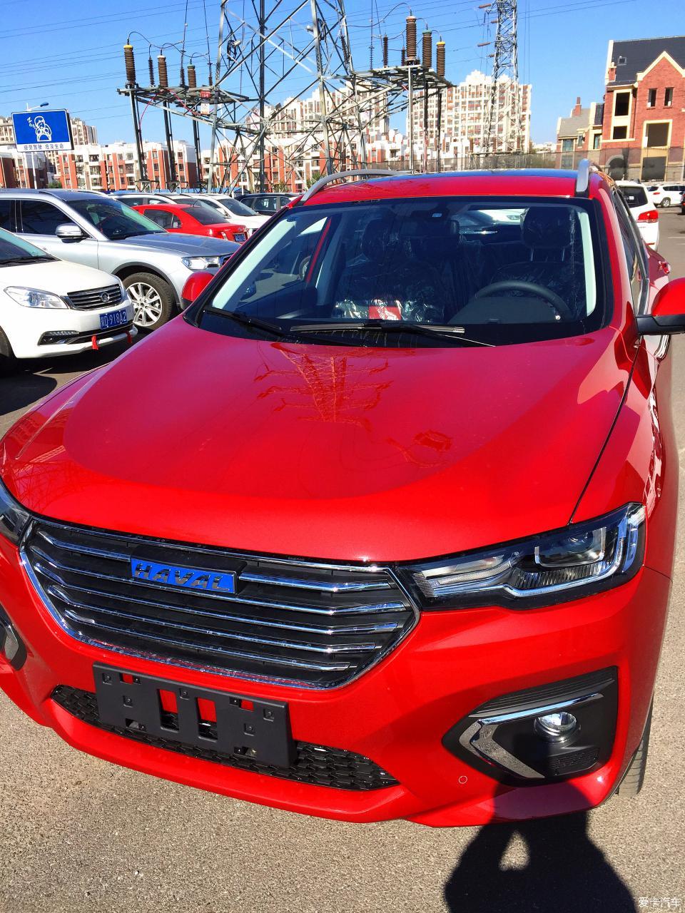 红色2018款h2s看车贴-外观篇