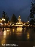 上海迪士尼的灯光烟花秀及夜景