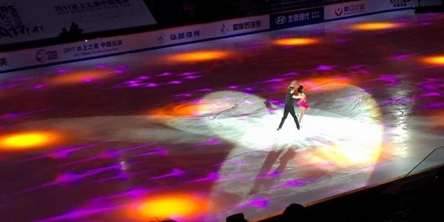 看了冰上之星,精彩的演出,为现代点个赞