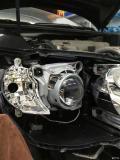 改装GTR透镜氙气大灯,丰田凯美瑞
