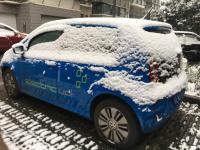 雪中的E-UP!