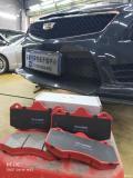 安塞性能升级 凯迪拉克ATSL更换沃肯尼AP7040卡钳改装刹车片案例