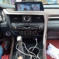 雷克萨斯RX改装12.3寸大屏导航