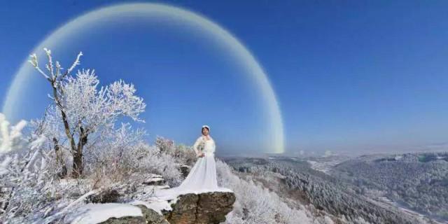 雾凇――冬日里的精灵