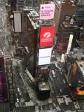 时代广场大屏被中国包养了一块