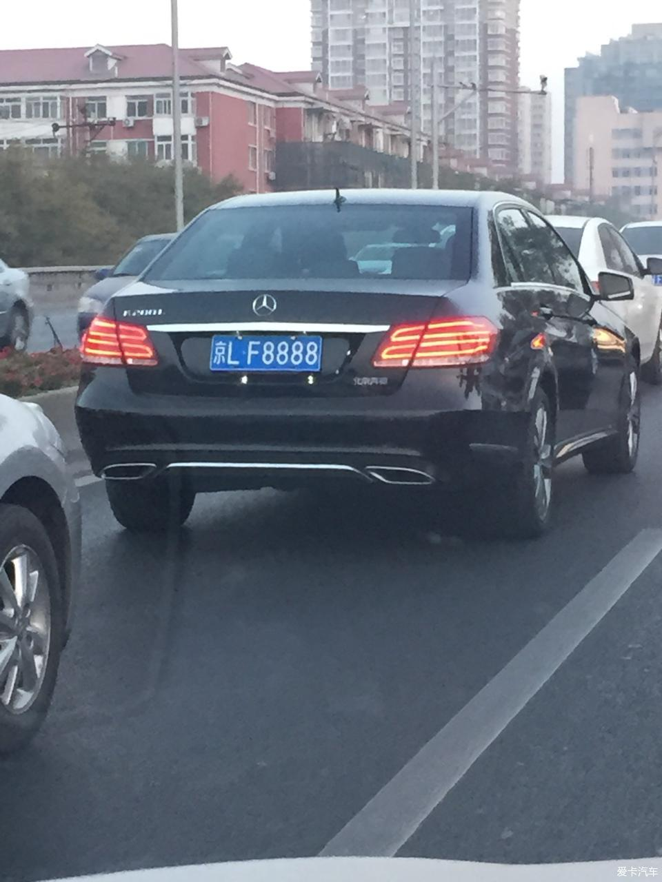 大北京街上拍到的那些牛逼号牌儿 XCAR 爱卡汽车俱乐部