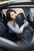 【女神请上车】 甜美校花如何性感突破 和荣威RX5的亲密接触