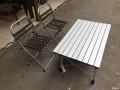 折叠桌椅不错 方便 一家人出去必备品了