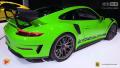 帅哭因为那抹绿!围观全新保时捷911GT3 RS