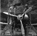 一个德国人在中国为美国人修复一架日本战斗机的故事