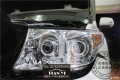 成都米石LED智能双光透镜兰德酷路泽陆巡车大灯升级正品授权店