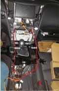 舒适版Q50L导航安装作业