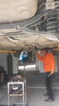 福克斯双边单出排气制作改装作业