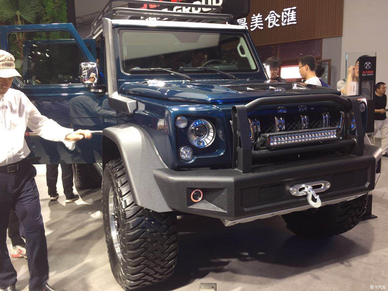 > #北京车展#来车展看北汽六驱越野车