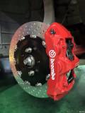 玛莎拉蒂莱万特刹车改装Brembo GT6刹车卡钳