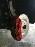 奔驰GLC刹车改装AMG刹车卡钳改装案例图
