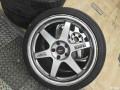 深圳出RAYS  TE37锻造轮毂19寸带胎