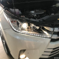 18款汉兰达,全车改装作业,大灯氛围灯,电动尾门,360全景