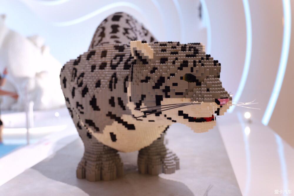 > 方块动物世界之ifs的乐高积木展览 nature connects