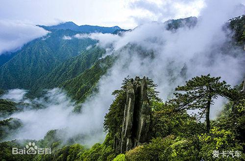 > 江西省吉安地区安福县羊狮慕景区老子岩雕像被责令拆除
