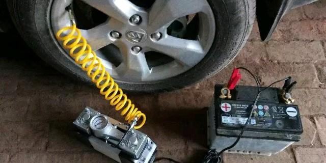 #申精#便携车载充气泵测试