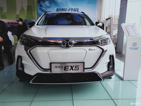 北汽新能源EX5看车记,浅谈这款纯电SUV的魅力