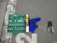 自己清洗MKC进气支管及节气门作业