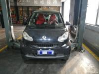 【花胡椒养车】小小奔驰smart出现汽油味大的问题-汽油泵开裂