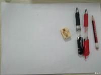 铅笔画-小熊来了
