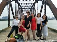 【与女神相约】海口南渡江铁桥——忆往昔,贺小白