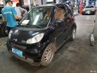 【花胡椒养车】小个子奔驰smart车门锁故障无法开门换锁块图解