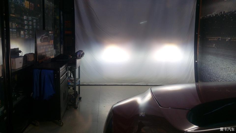 睿翼改装论坛_马自达睿翼车灯不够亮,改装LED双光透镜,附改装前后对比照片 ...