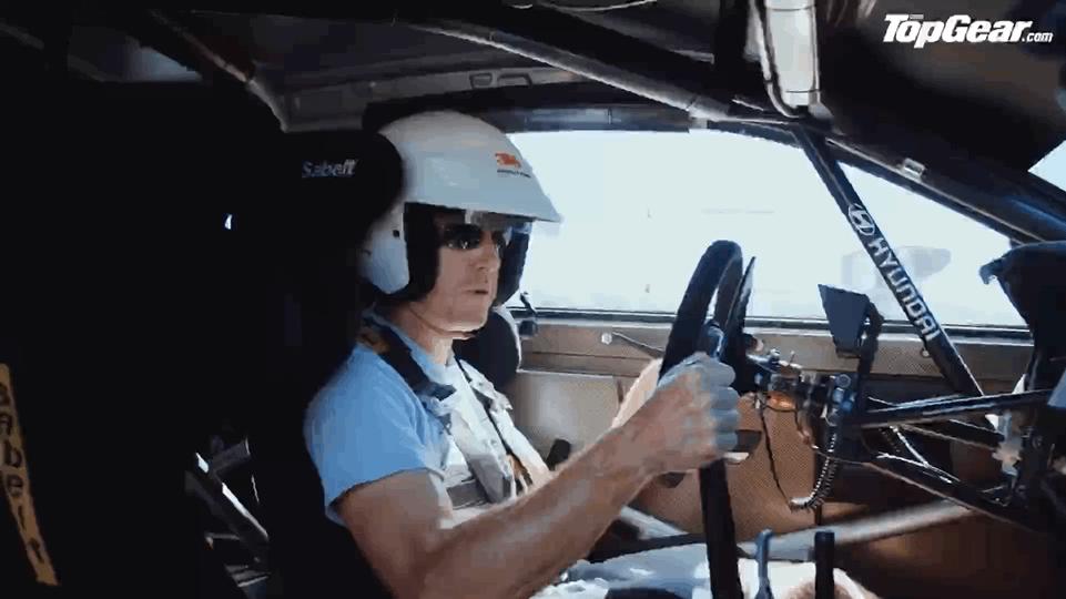如何弹射一台WRC拉力赛车