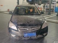 【每日拆箱】北京现代悦动汽车档位传动比故障现象拆箱维修