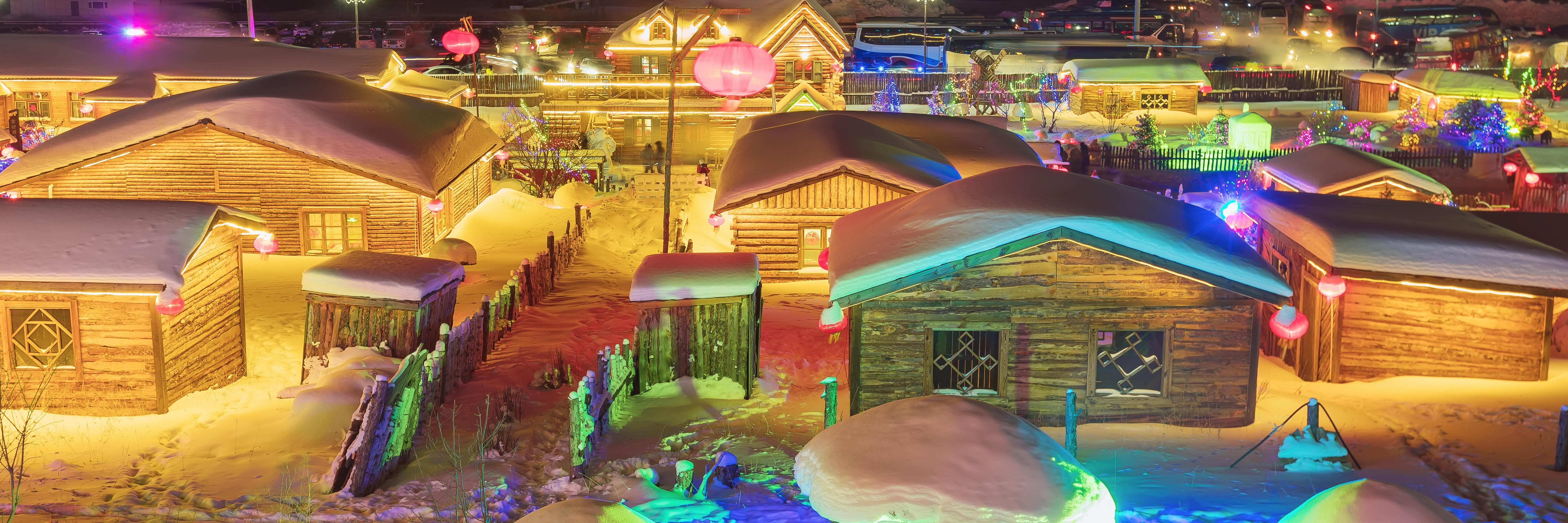 阿爾山新出道的雪村VS名滿江湖的雪鄉 兩者PK 您選哪家?