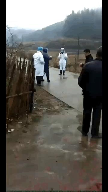 江西水江镇发现疑似患者