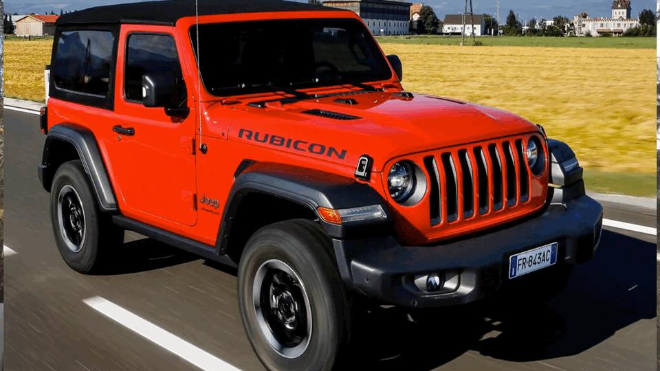 每日一车:Jeep牧马人