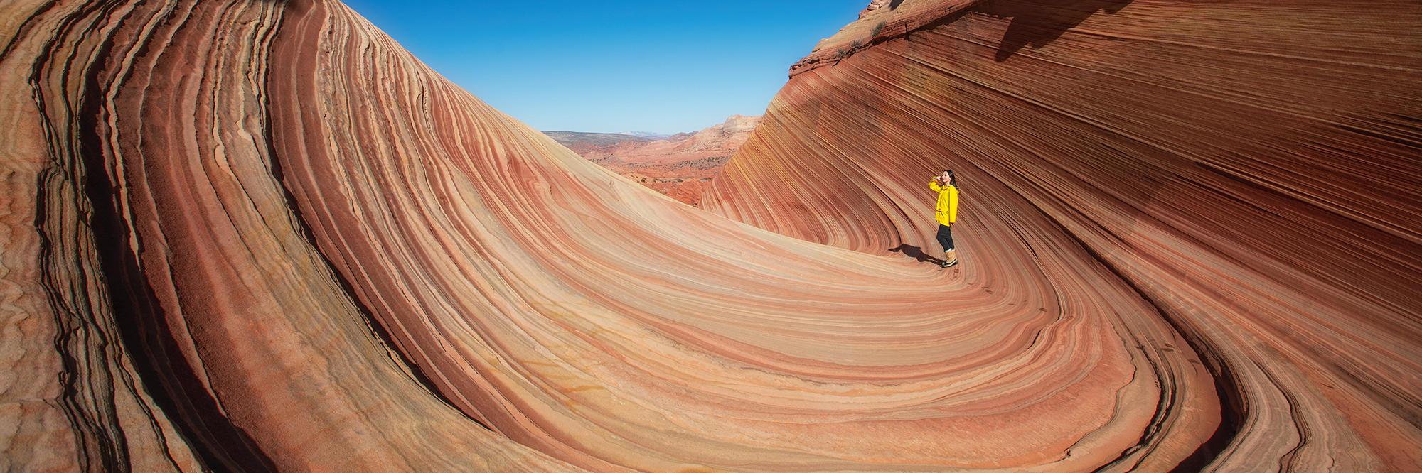 红岩 峡谷 拱门 荒野 美西自驾徒步探险