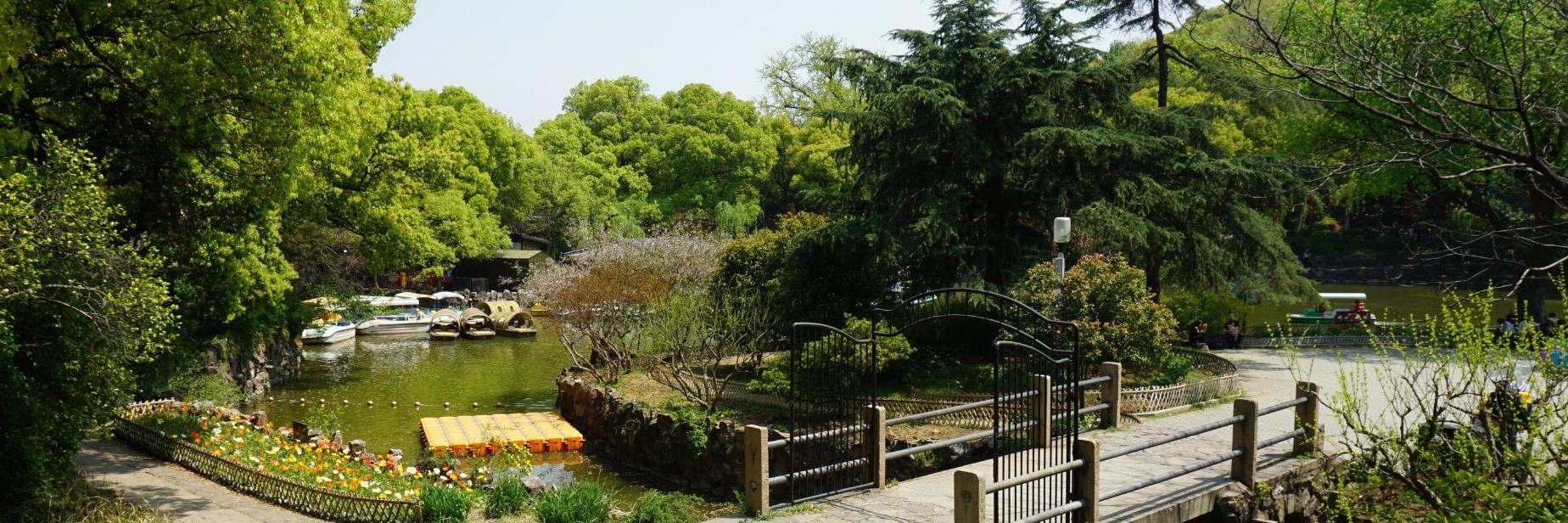游览惠山古镇,感受古镇的宁静,享受着古镇空气的清新