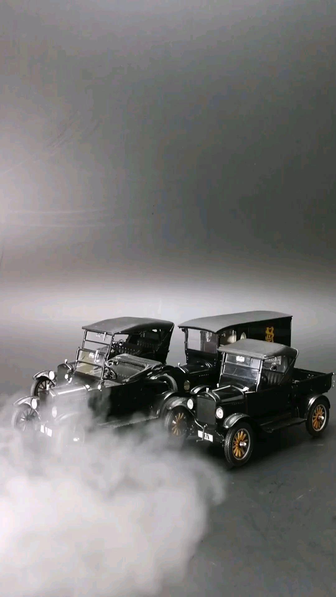 1925福特T型车系列,1:24比例,东晓汽车模型收藏馆藏品。