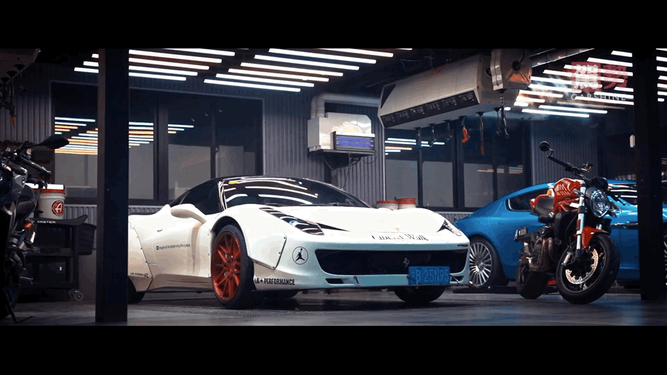 Ferrari 458 Liberty-Walking in Shanghai每一帧都是壁纸系列