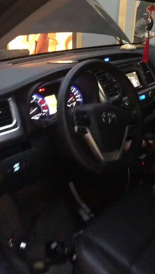 【丰田汉兰达】卓梦D165两分频+卓梦KX3113专车专用功放+卓梦MLV8-2.1超薄低音