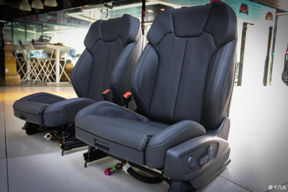 奥迪Q5L改装案例之换装原厂通风加热座椅,好东西不怕时间考验