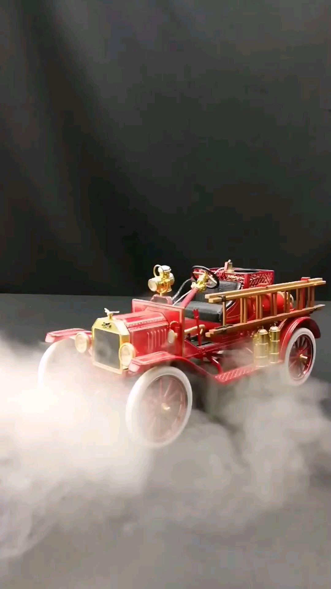 1916福特T型消防车,1:16比例,东晓汽车模型收藏馆藏品。