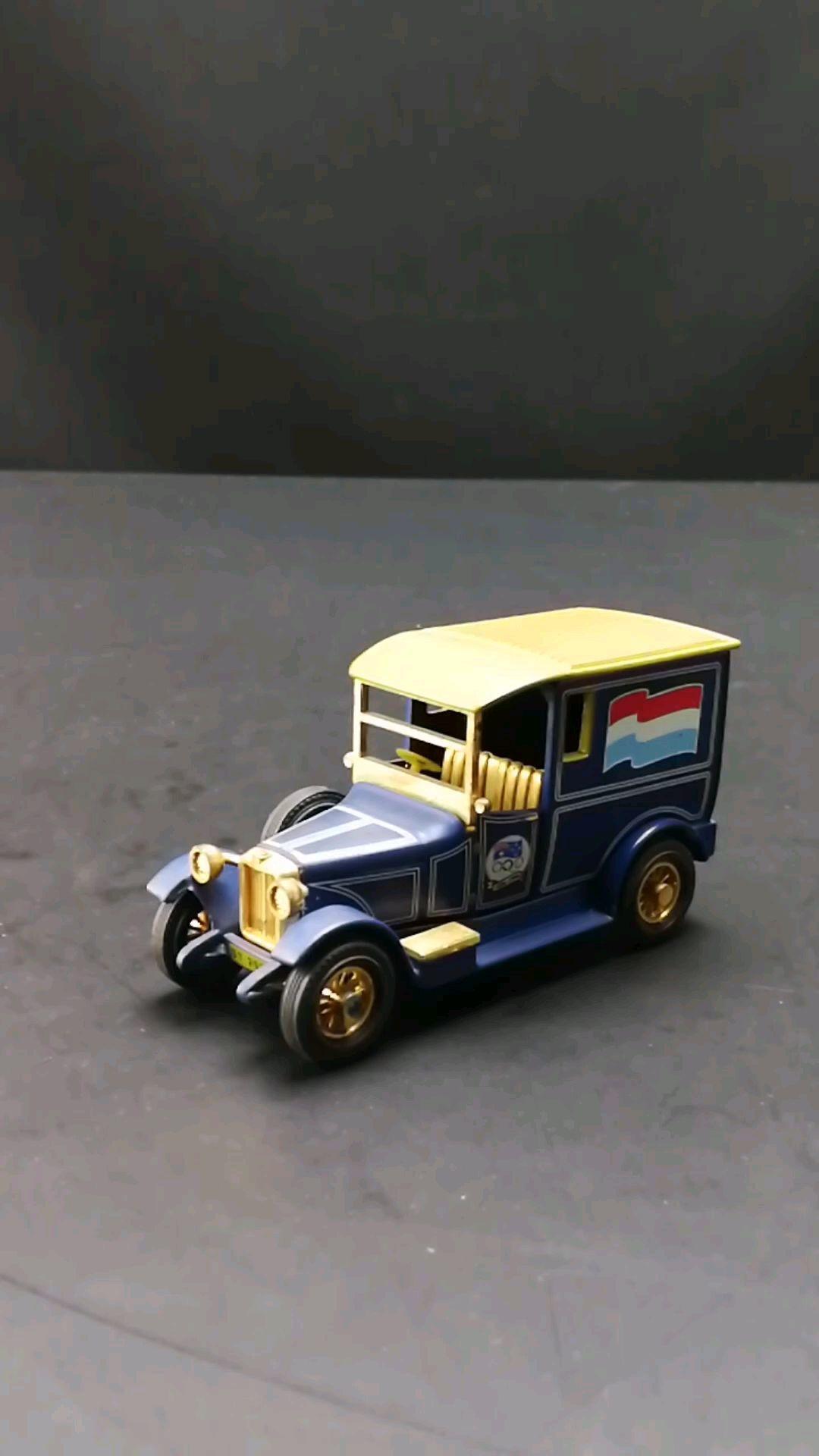 1927塔尔博特阿姆斯特丹小货车,1:43,东晓汽车模型收藏馆藏品。