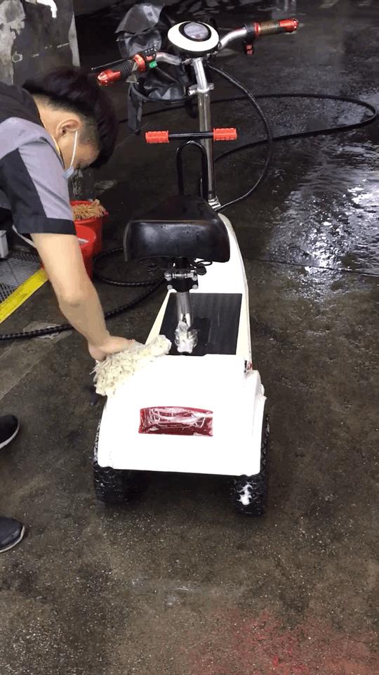 老板,洗车
