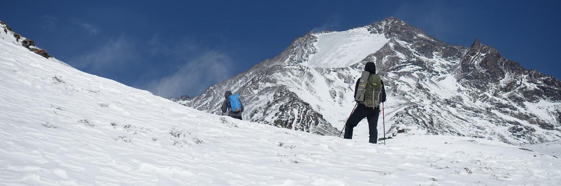 尝试自主攀登四川都日峰(海拔5430),实况分享!