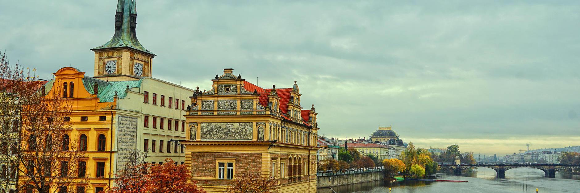 捷克 | 斯洛伐克的浪漫之旅,美丽多彩的中世纪宝石与童话小镇