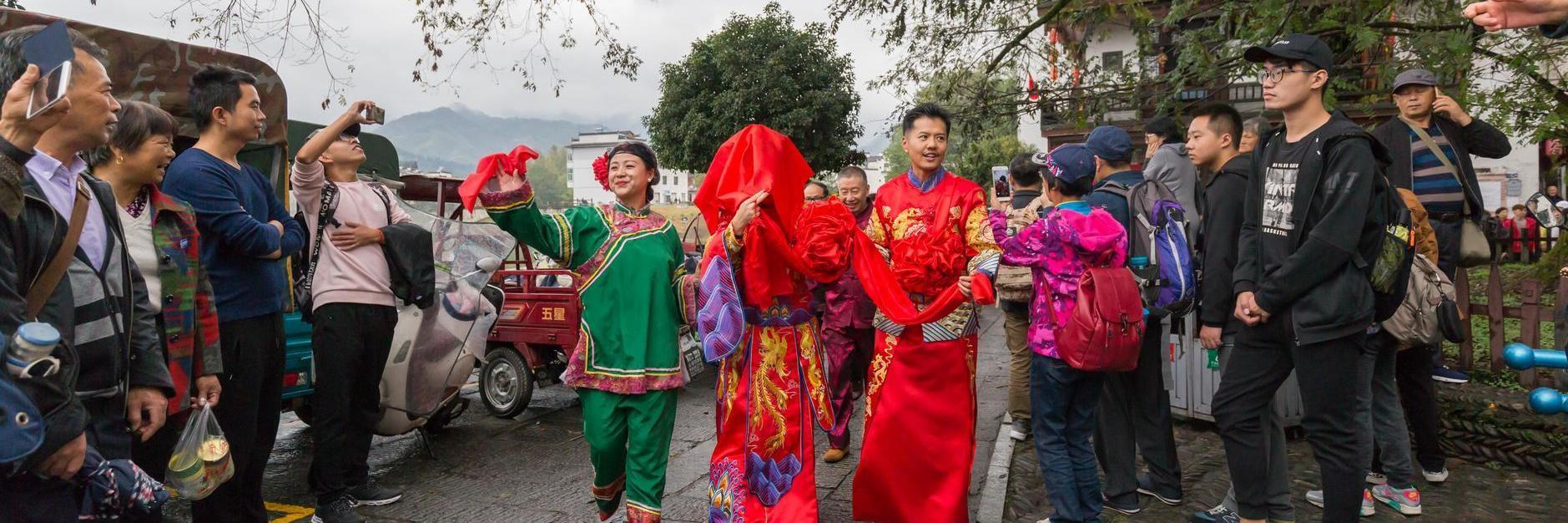 皖南之秋——宏村、南屏与塔川印象